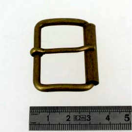 Belt buckle - Brass Vielli