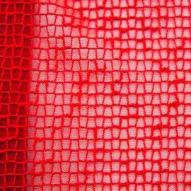 Non elasticated Mesh - Red