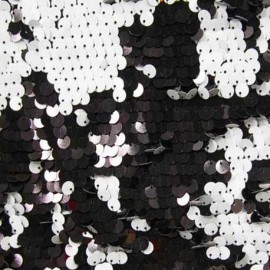 Reversible Sequins Black/White – 4mm