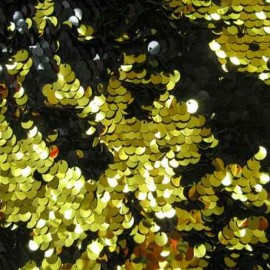 Reversible Sequins Black/Gold – 8mm