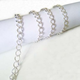 Silver Chain (9,5 and 11mm)