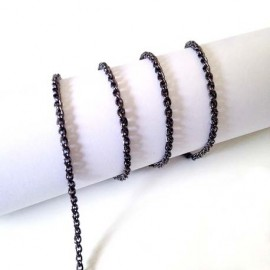 Black Chain (4 & 5 mm)