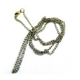 Bronze Chain with system of hook closure