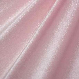 Velours Paillette Rose Pale