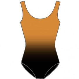 Shaded Leotard Black