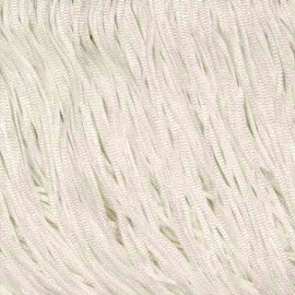 White- Fringe 15 cm Stretch