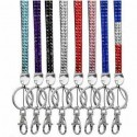 Lanyard with rhinestone