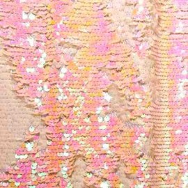 Reversible Sequins Pink Pearl 5mm