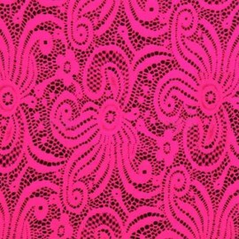 Lace Lisa Neon Pink